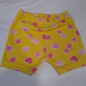 Garanimals 12 month yellow shorts